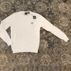 Sweaters - Kate Lord White Cable Sweater Size Medium